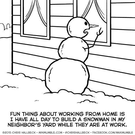 #553 – Snowman